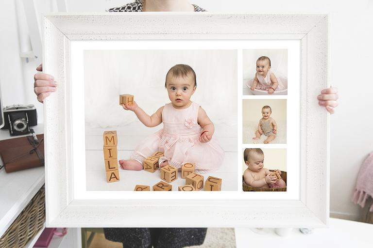 bebisbilder ettarsfotografering sjumånadersfotografering göteborg barnporträtt bebisbilder babybilder