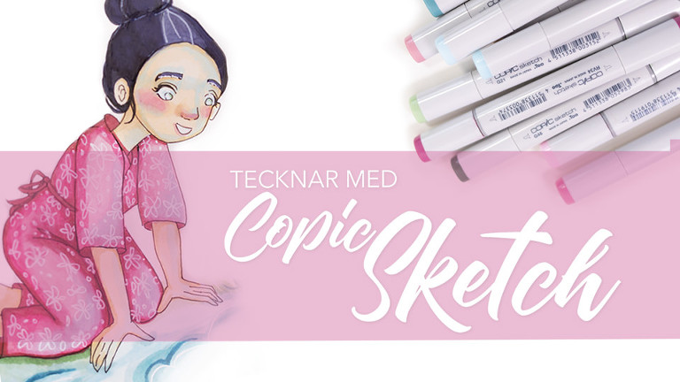 tecka med copic markers