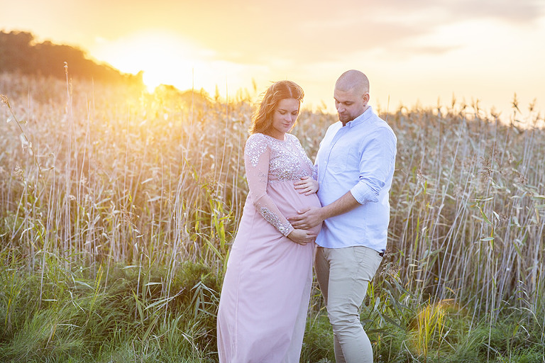 gravidfotografering utomhus gravidbilder