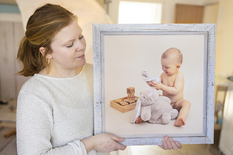 bebisfotografering ettårsfotografering göteborg studio