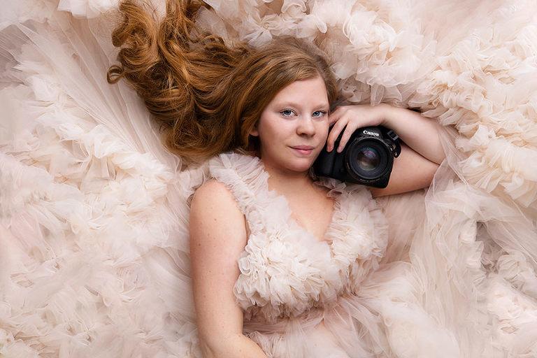 Fotograf Maria Ekblad gravidfotografering studio göteborg